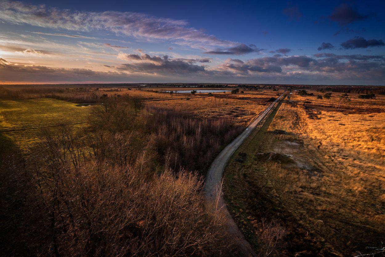 Nationaal park de Groote Peel Limburg Noord-Brabant