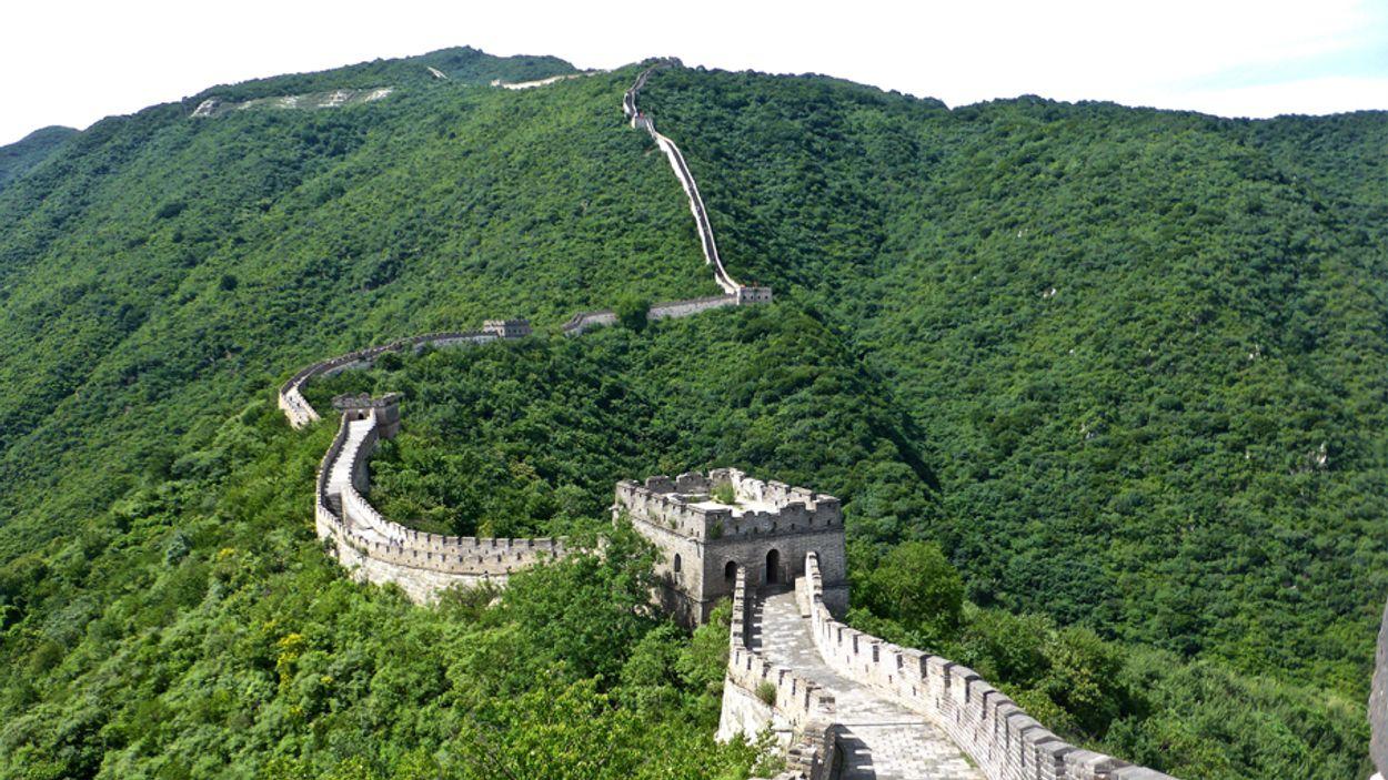chinese muur mooier