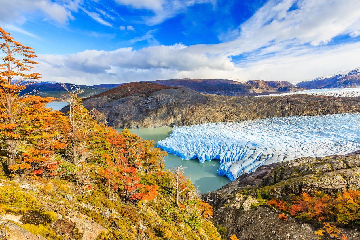 gletsjer veraf