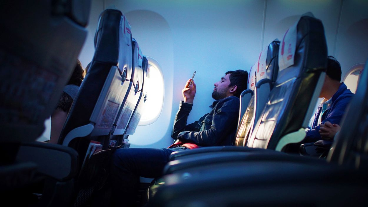 airplane telefoon