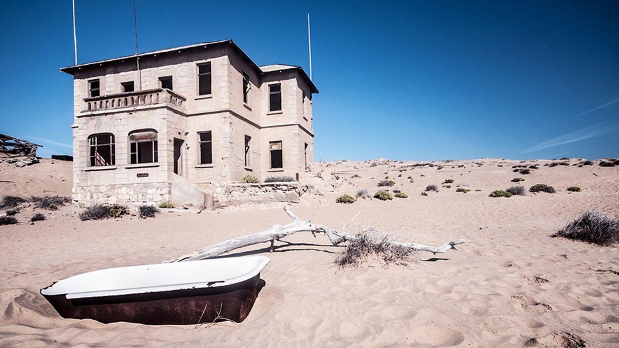 Afbeelding van Wow! Dwaal door spookdorp Kolmanskop