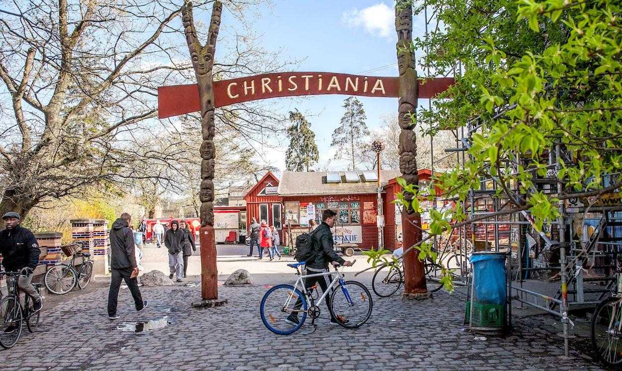 Christiania Kopenhagen Denemarken