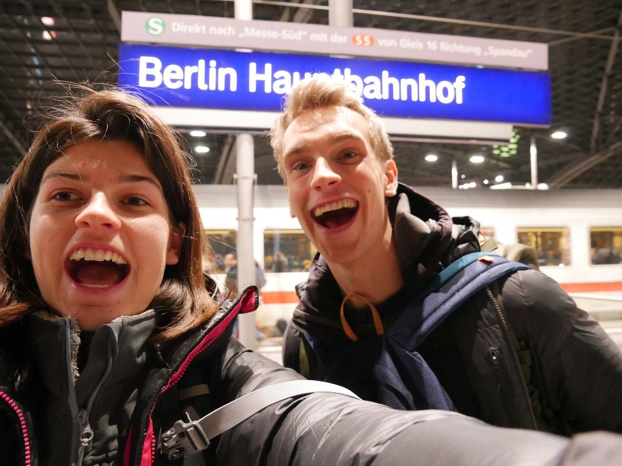 eerste stop in berlijn