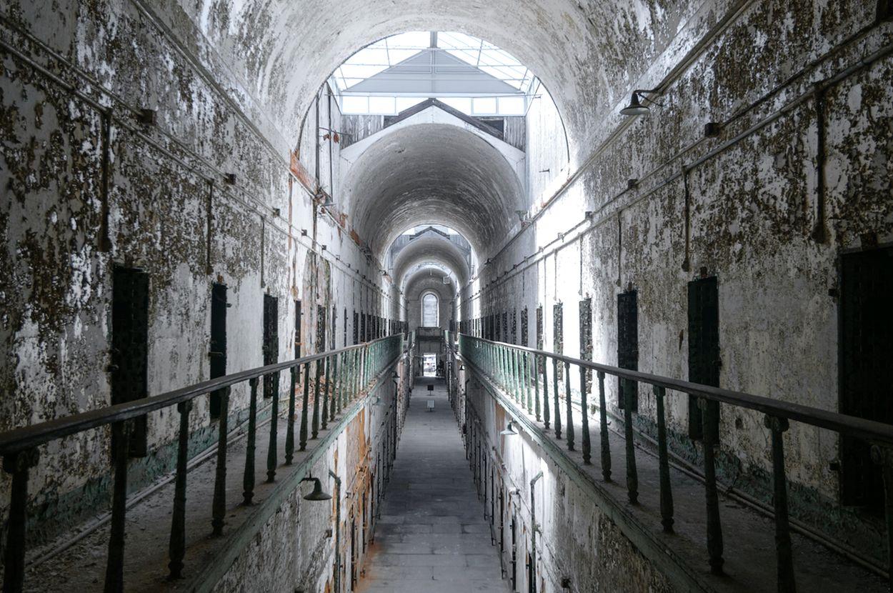 Afbeelding van Foto's van Amerika's spookachtige, oudste gevangenis