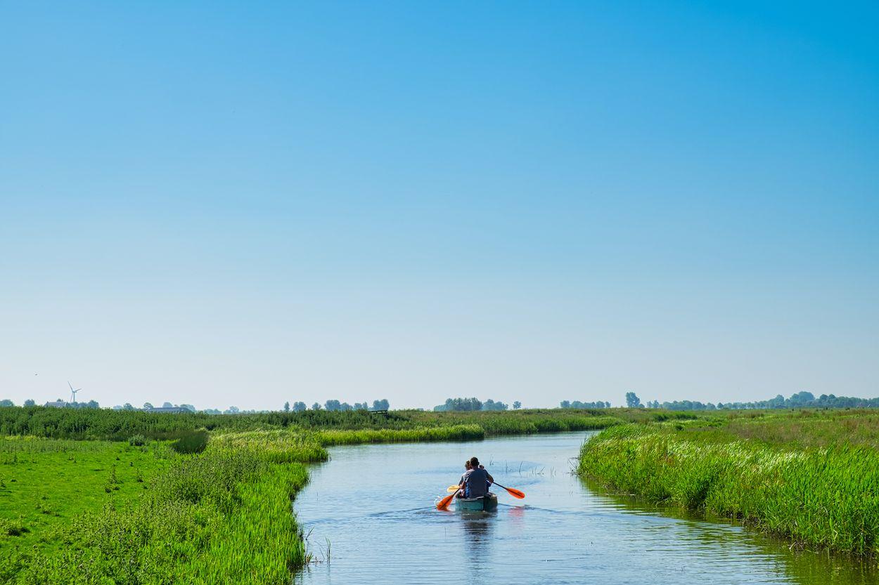 Afbeelding van De mooiste SUP- en kanotochten in Nederland