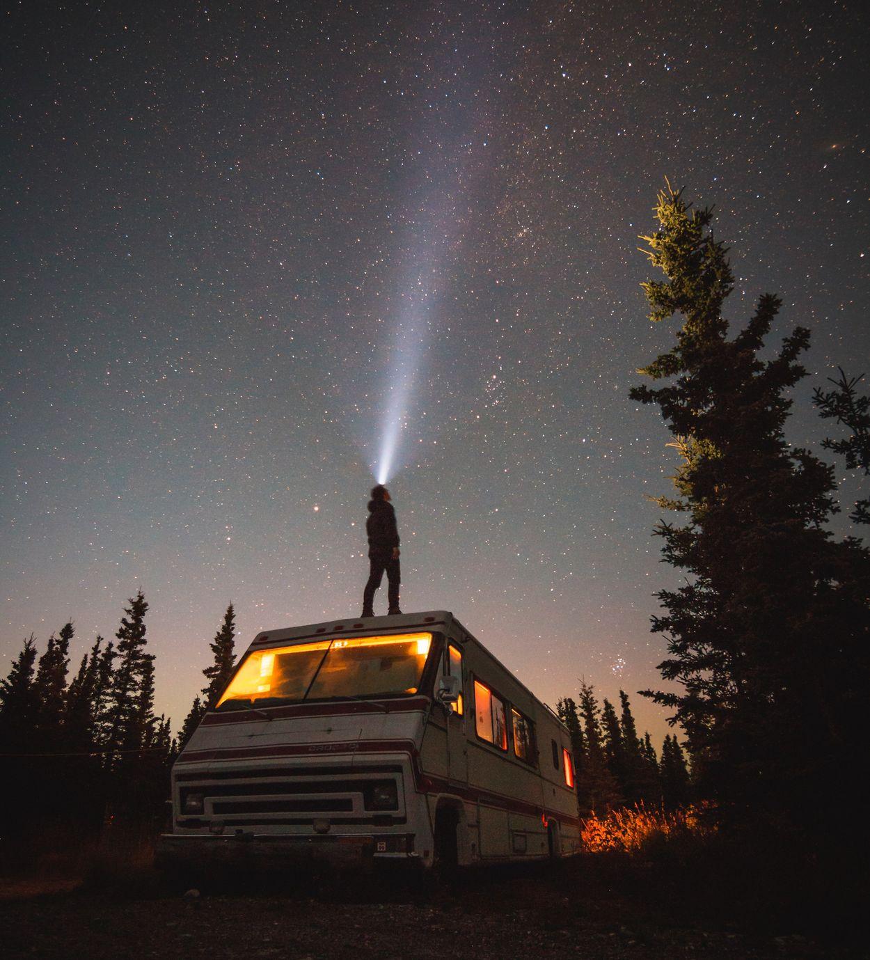 kamperen sterrenhemel sterren
