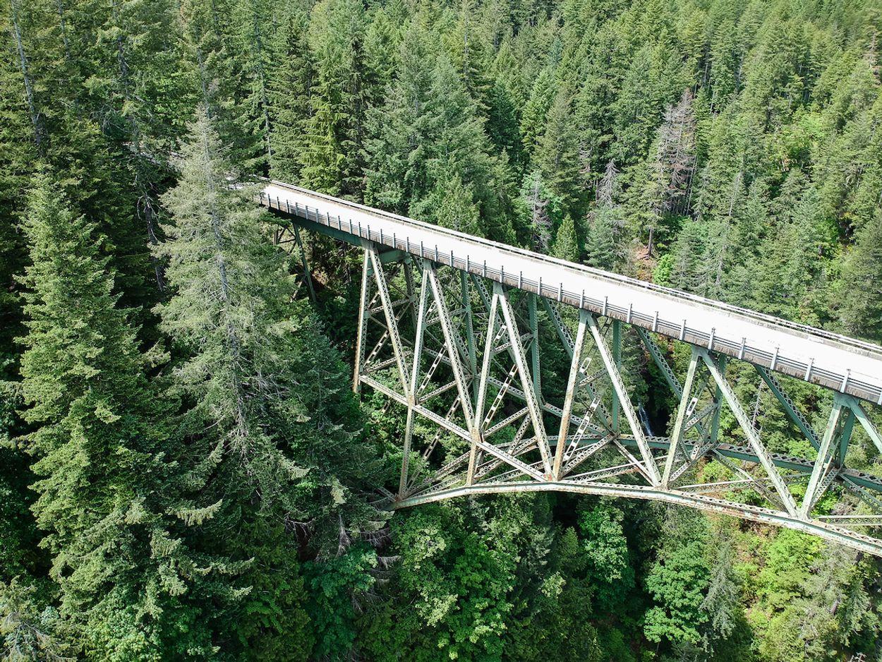 High steel bridge washington