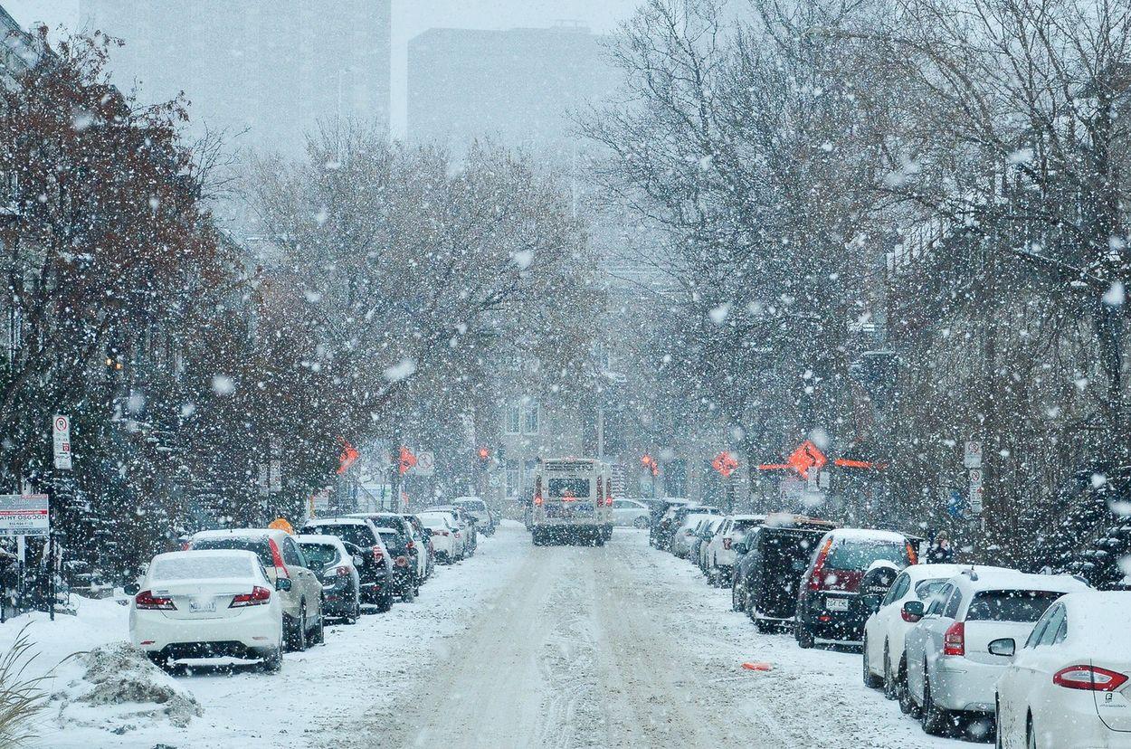 Sneeuw Montréal