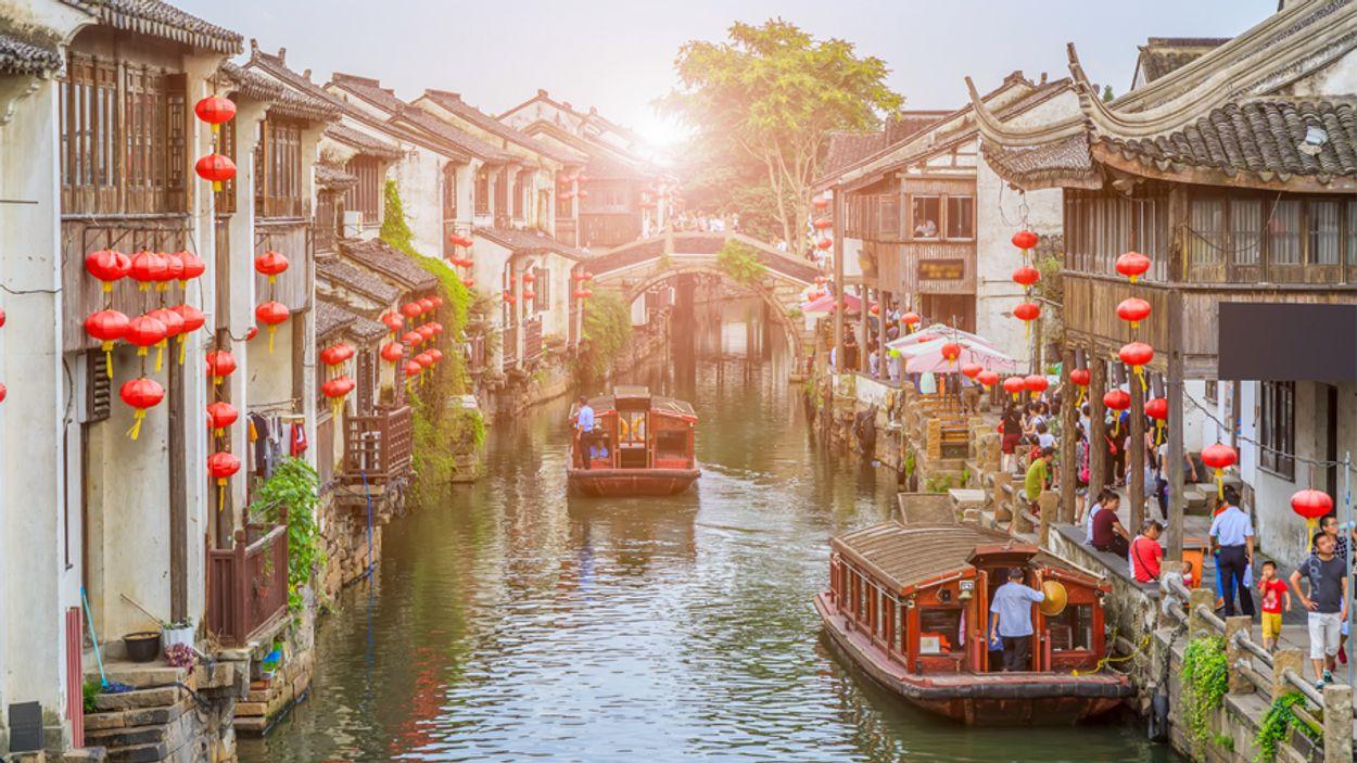 Afbeelding van Suzhou is het Venetië van China