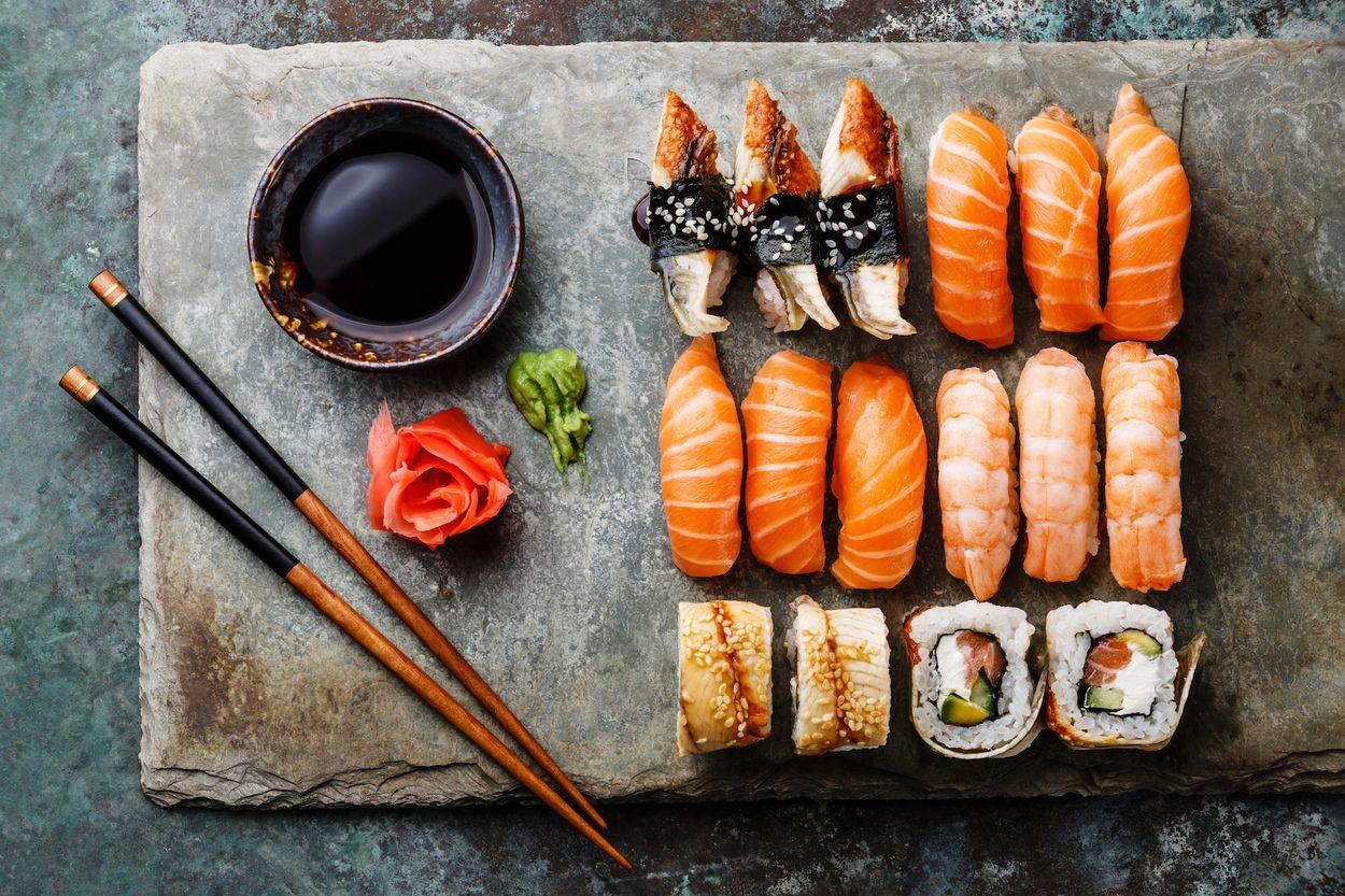 Afbeelding van Grote kans dat jij sushi op de verkeerde manier eet