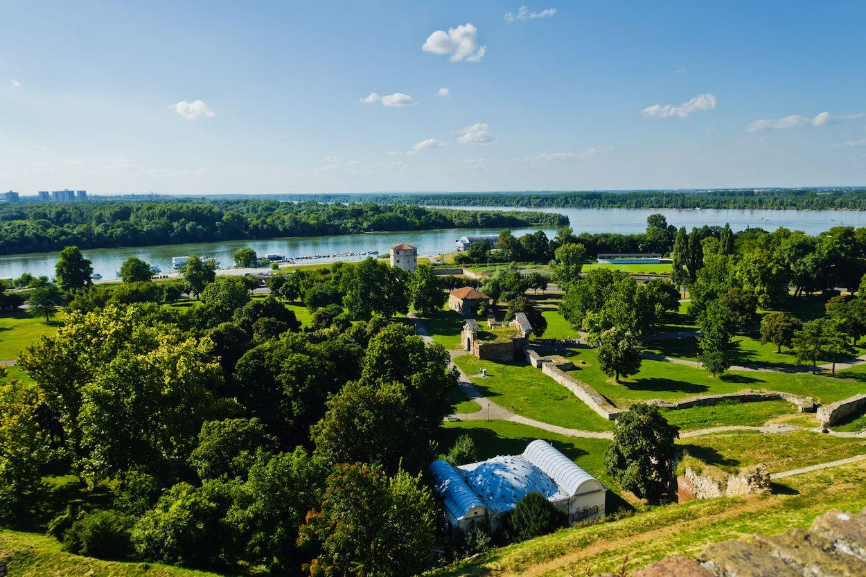 Belgrado rivier 2