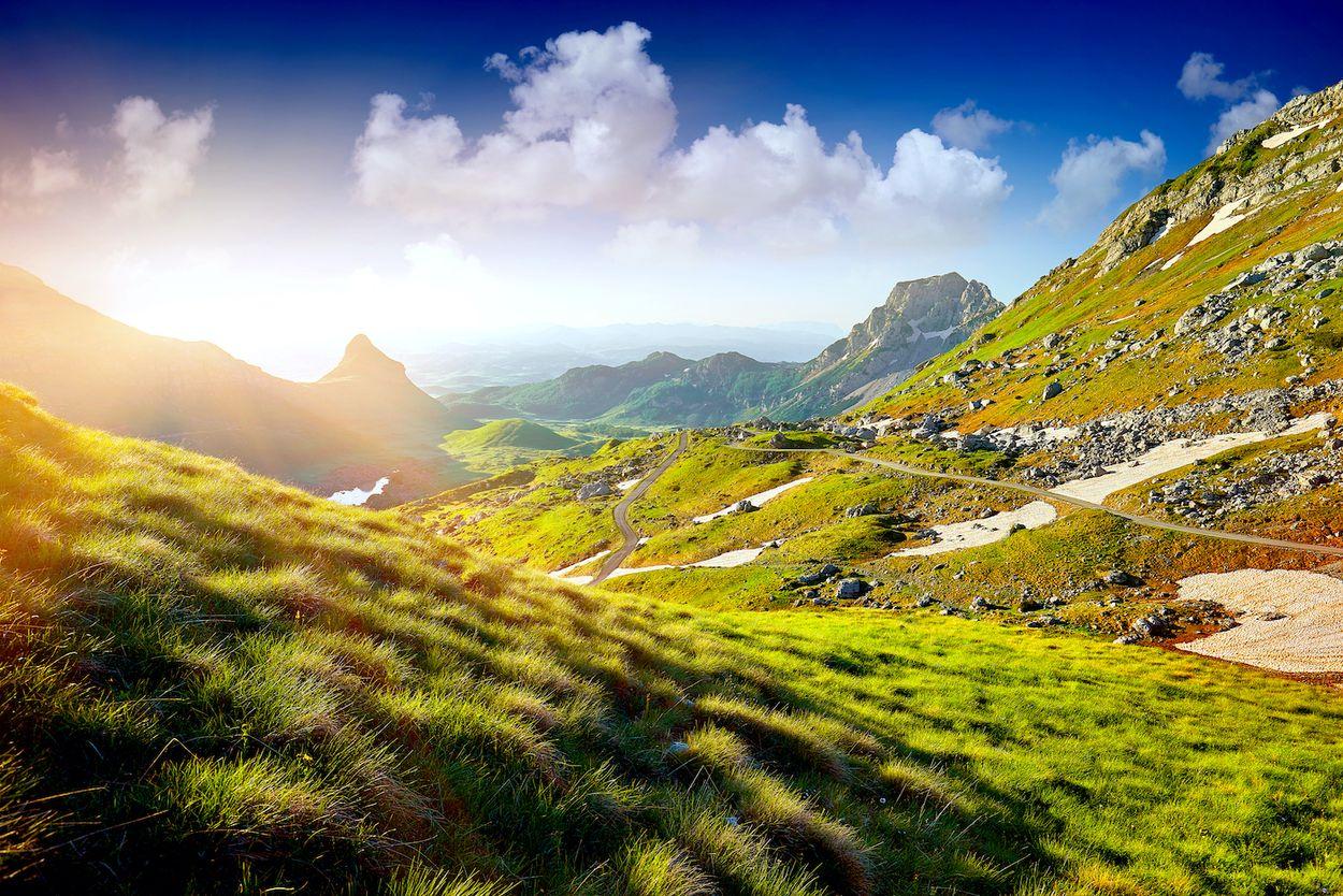 Afbeelding van Durmitor National Park in Montenegro is zo imposant als de naam doet vermoeden
