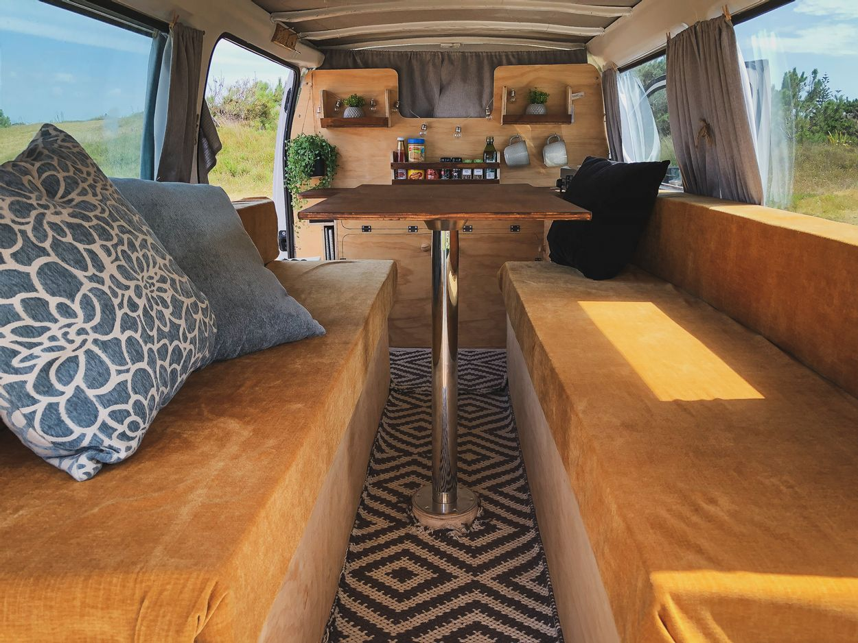 by NOMADS - camper interieur