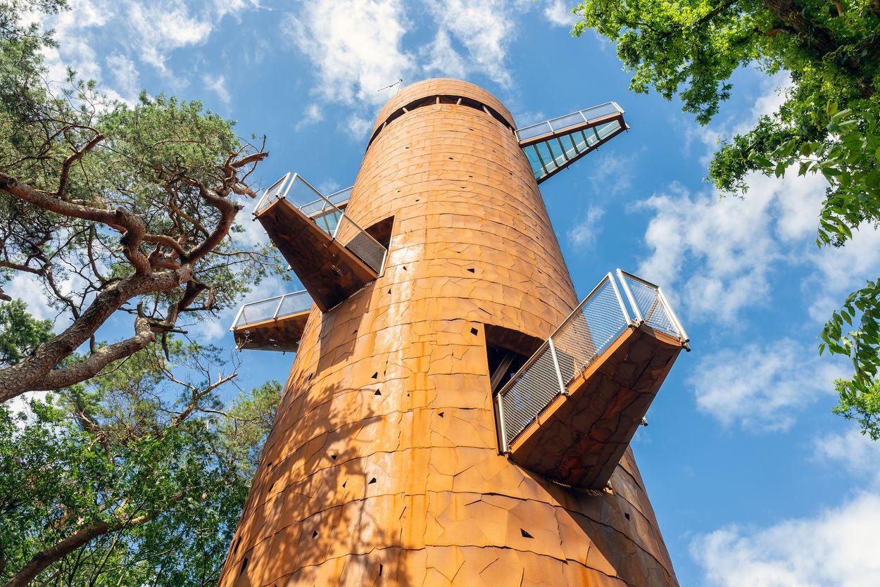 Bosbergtoren Appelscha Door T.W. van Urk