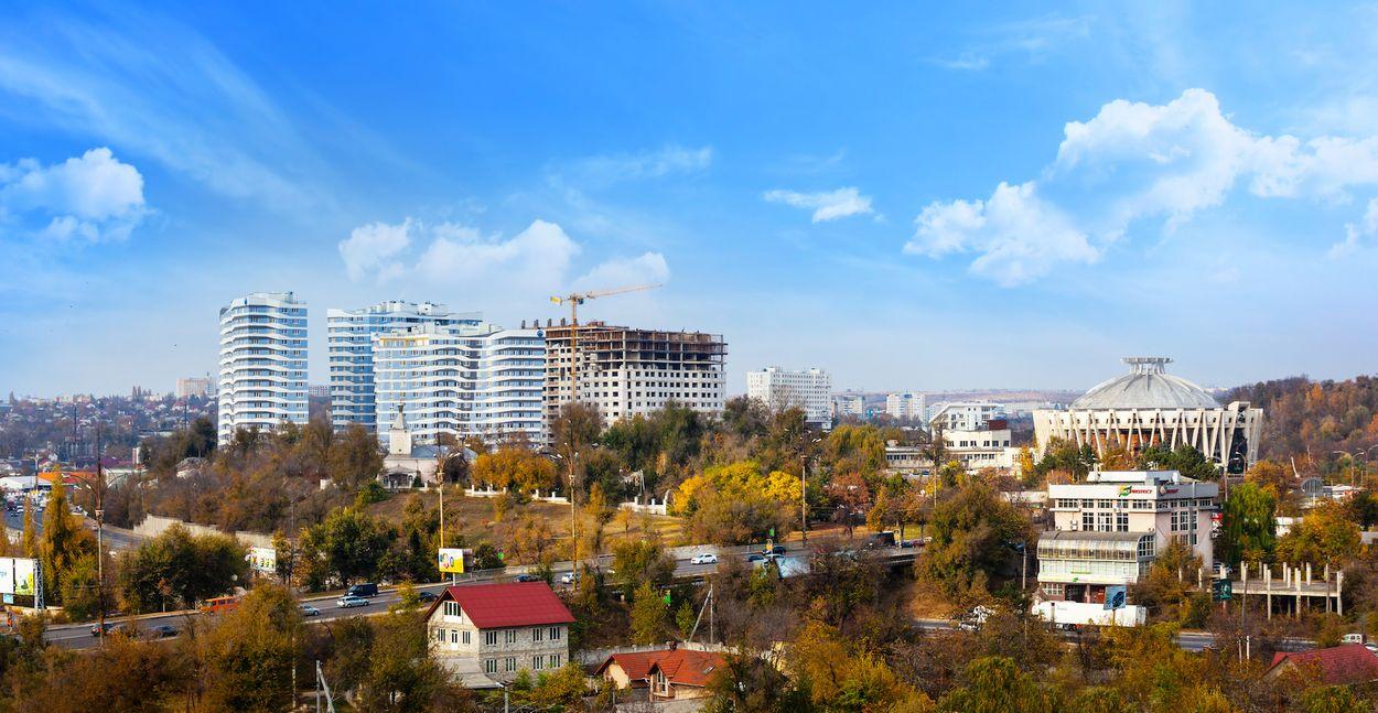 Chisinau skyline