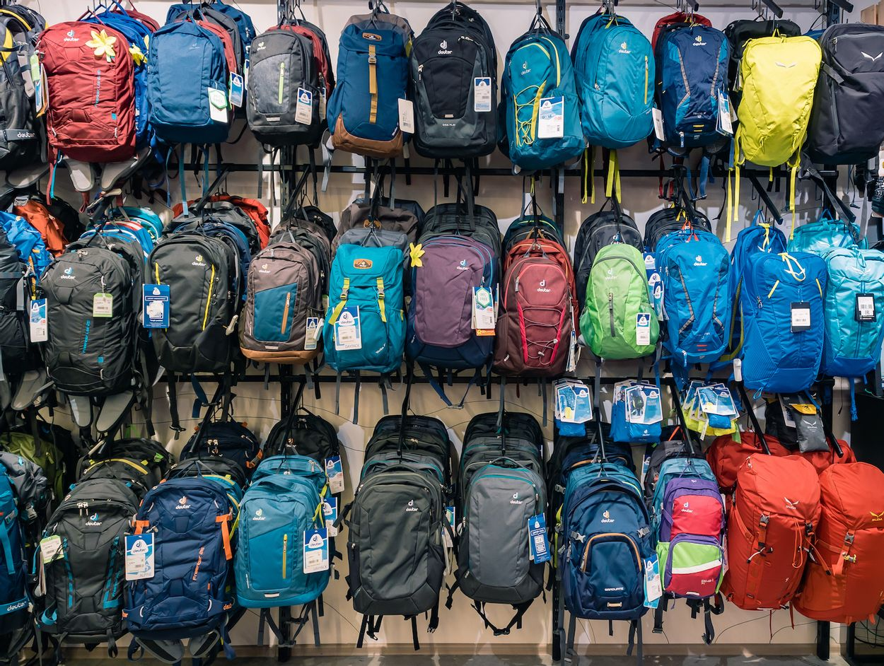 Buying a backpack