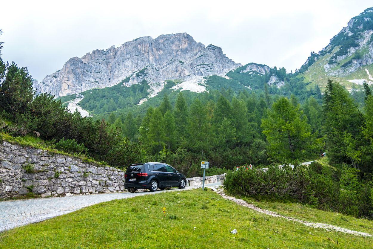 Slovenië bergpas