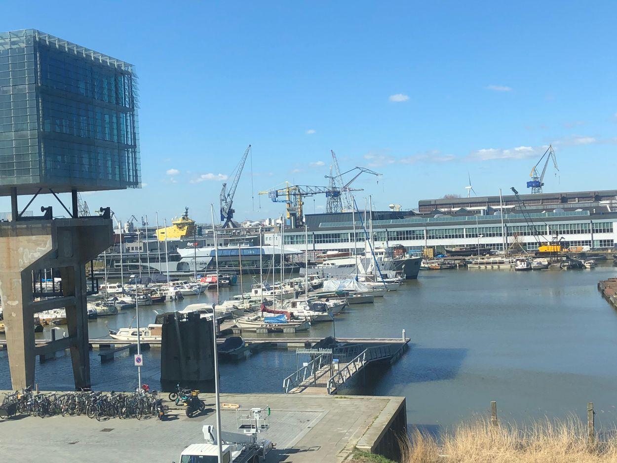 NDSM uitzicht Amsterdam