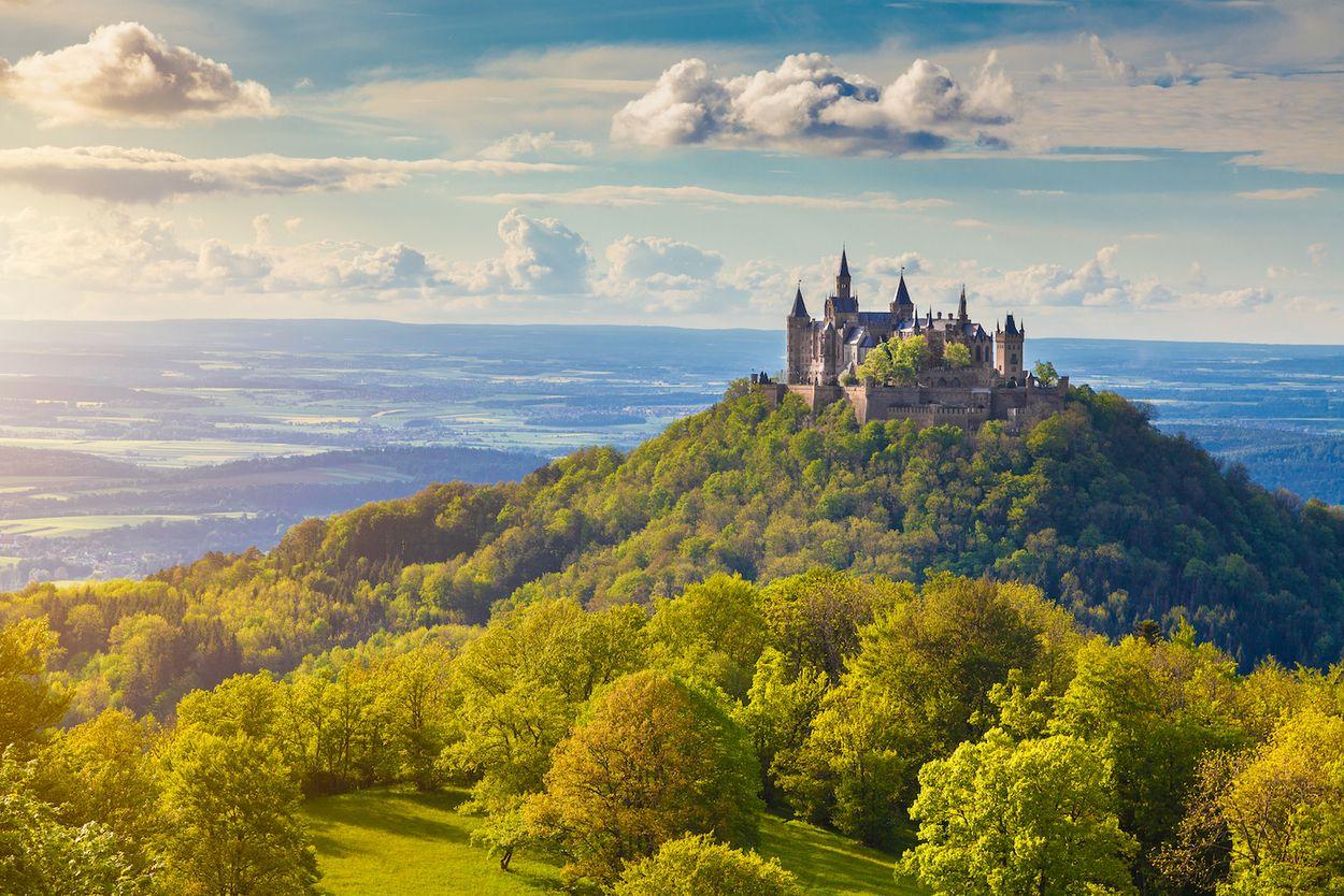 hohenzollern kasteel - duitsland