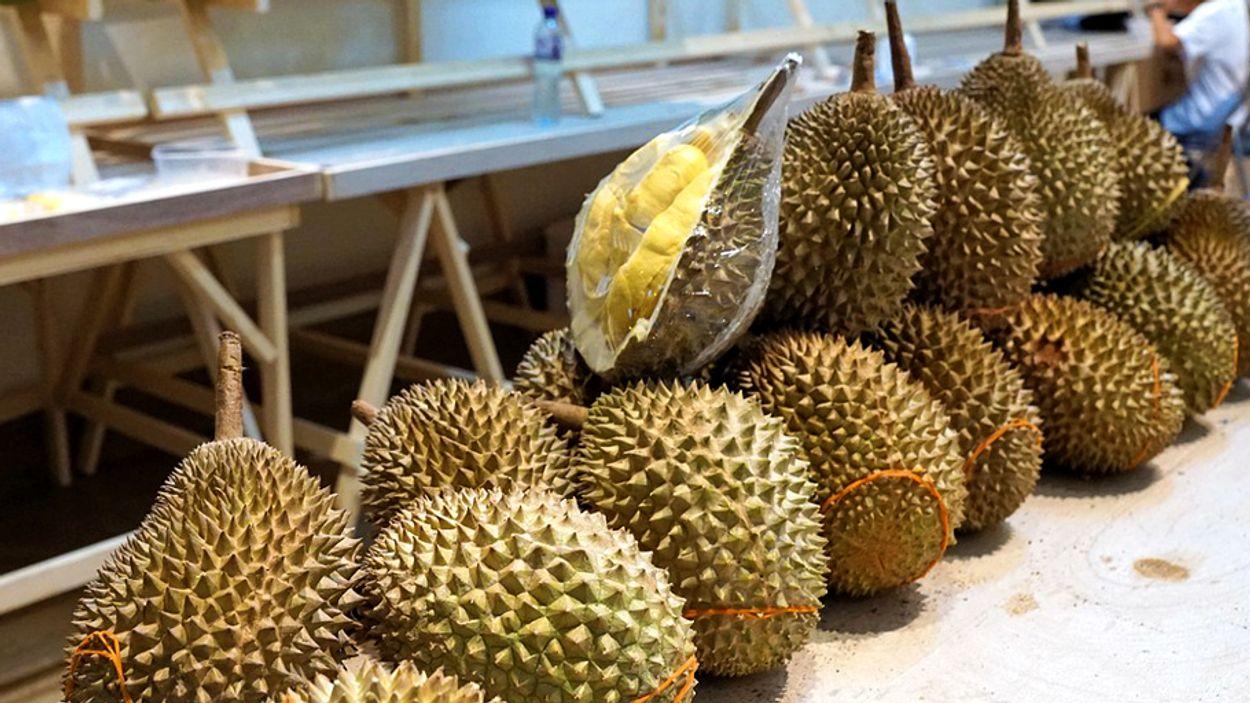 durian vrucht