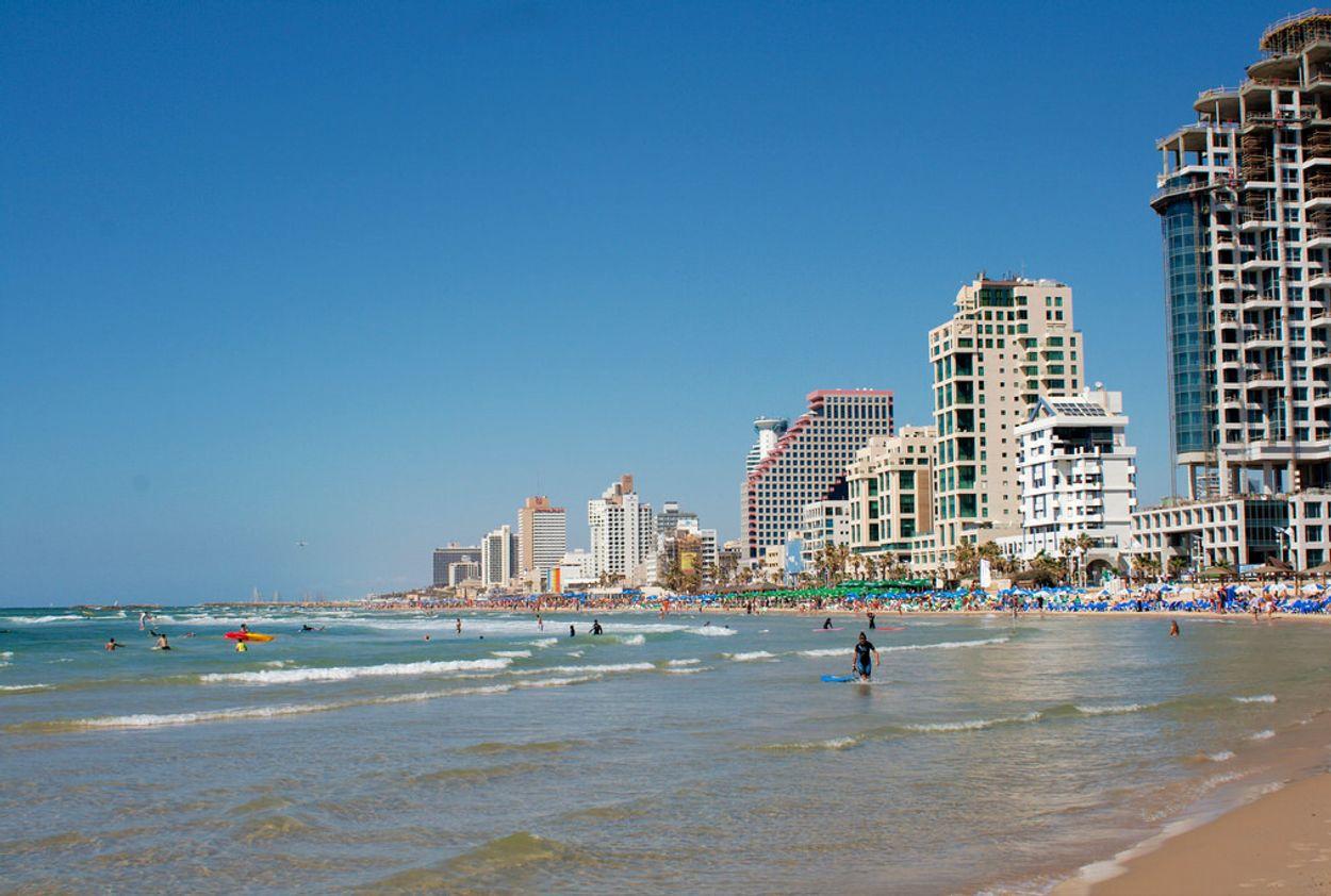 Strand 6x Israël