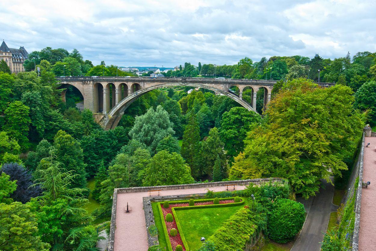 Luxemburg Petrusse valley Door Preisler