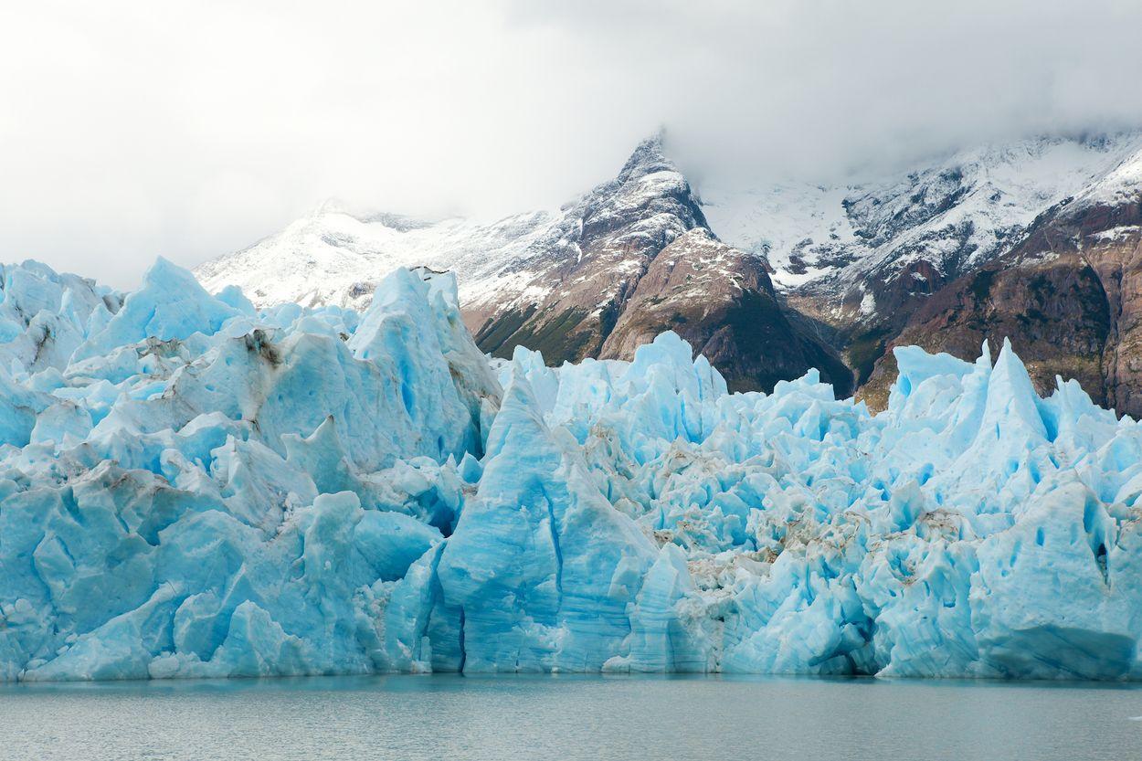 gletsjer dichtbij