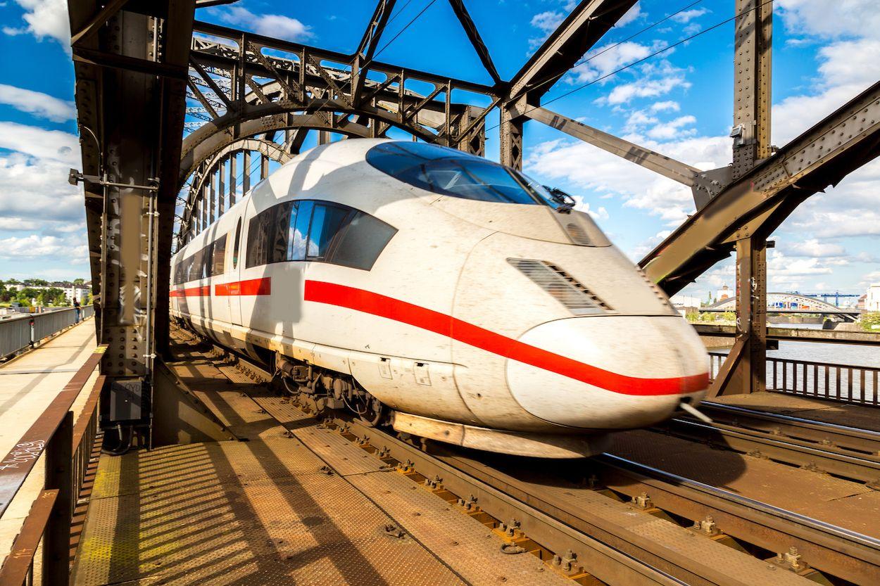 deutsche bahn trein duitsland
