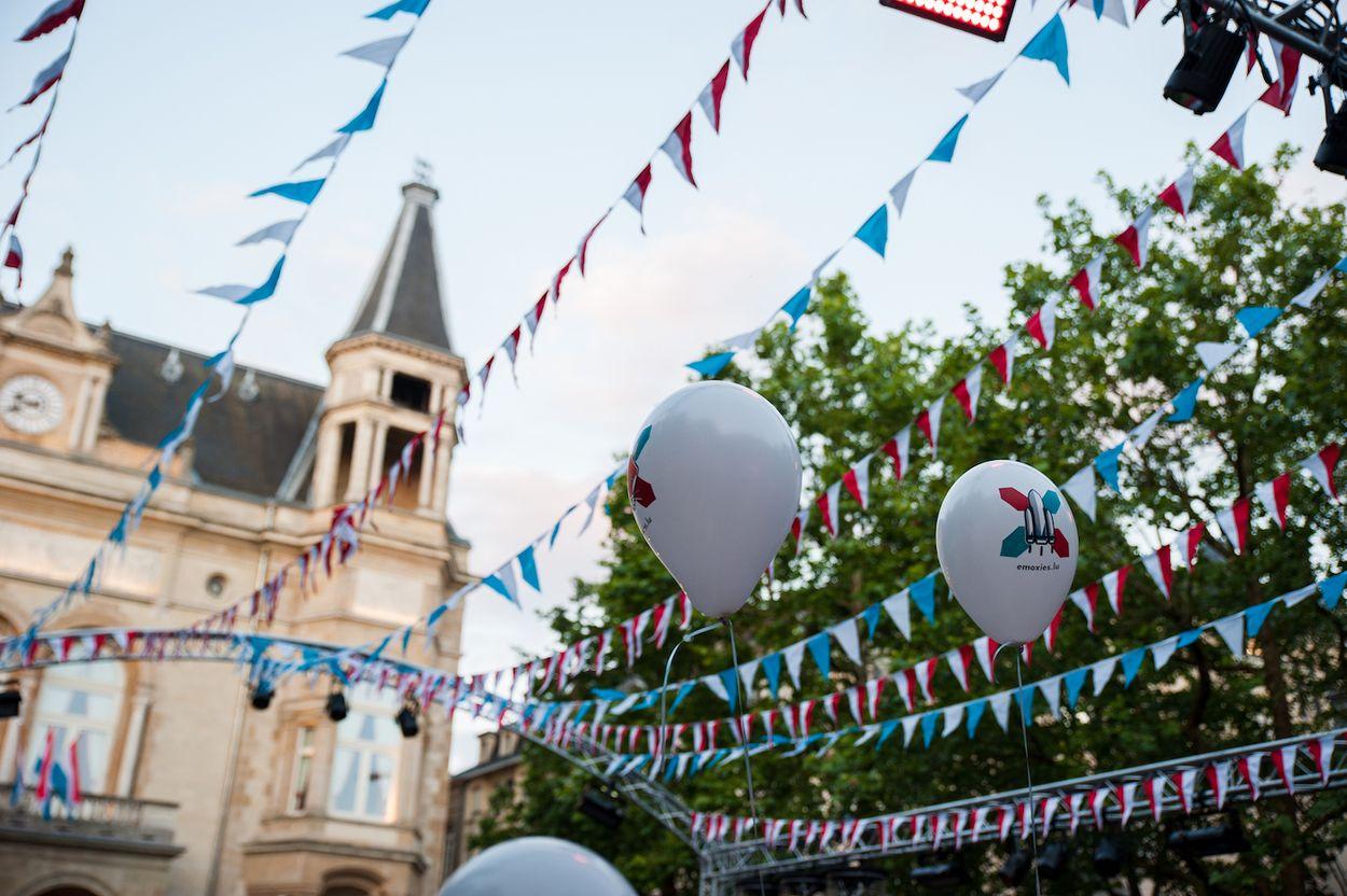 Luxemburg koningsdag
