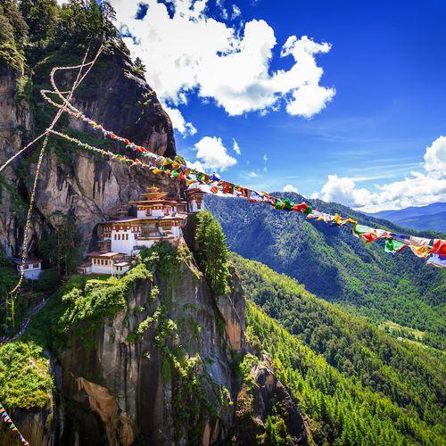 Afbeelding van Een waanzinnige route door Bhutan: het enige CO2-negatieve land ter wereld