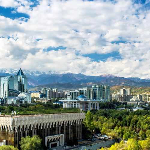 Afbeelding van Almaty & Aralsk