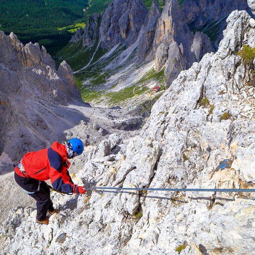 Afbeelding van Duizelen in de Italiaanse Dolomieten