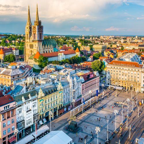 Afbeelding van Zagreb en omgeving