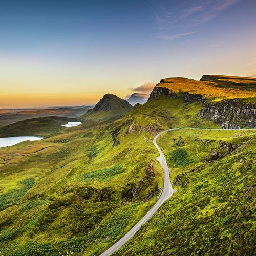 Afbeelding van Een route door de Schotse Hooglanden