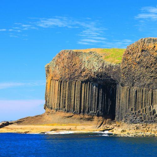 Afbeelding van Huh. Wat is er gebeurd met deze Schotse grot?